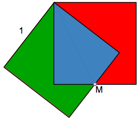 Minimum area squares and triangle similar exit exam placement test