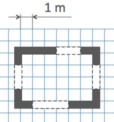 Математика k-6 plan view 1 meter